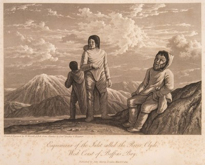 Lot 47 - Parry (William). Journal of a Voyage for the Discovery of a North-West Passage, 1st editon, 1821