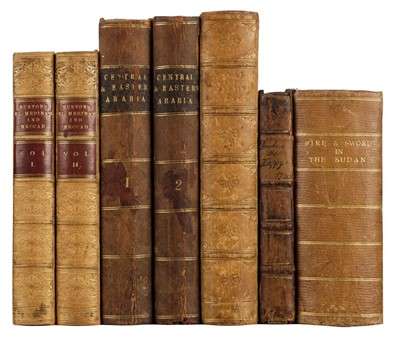 Lot 10 - Burton (Richard F.). Pilgrimage to El Medinah and Mecca, 2nd edition, 1857, ex libris C. J. Ottaway
