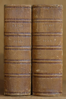 Lot 21 - Ford (Richard). A Handbook for Travellers in Spain, 2 volumes, 3rd edition, 1855