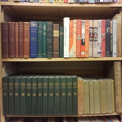 Lot 382-Fiction. A collection of modern fiction & poetry
