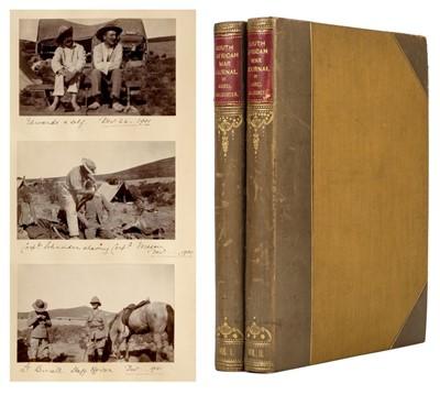Lot 12 - Chichester (Lionel, 1873-1902). Second Boer War journal, 1901-2, unpublished original typescript