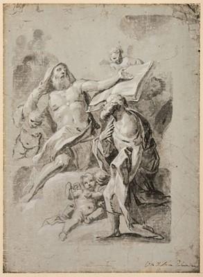 Lot 355-D'Anna (Vito, 1718-1769). Seated Prophet