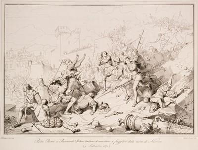 Lot 25 - Gatteri (Giuseppe). La storia Veneta espressa in centocinquanta tavole, 1st edition, 1852