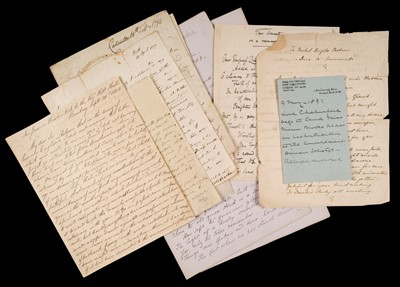 Lot 29 - India. Group of autograph letters signed, 18th and 19th century