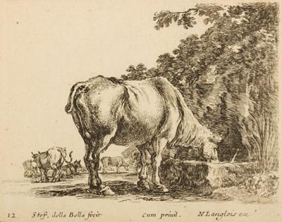 Lot 383-Della Bella (Stefano, 1610-1664). Diversi Capricci