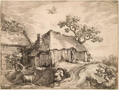 Lot 380-Bolswert (Boetius Adamsz, 1580-1633). Four Landscapes