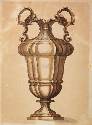 Lot 356-Dutch School. Designs for Metalware, circa 1720s-30s