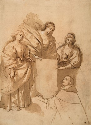 Lot 364-Sienese School. The Miracle of Soriano