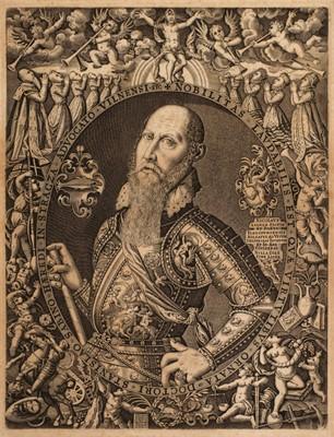 Lot 377-Andrea (Nicolaus, circa 1550 - 1606/16). Portrait of Stanislaus Sabinus von Stracza, 1590