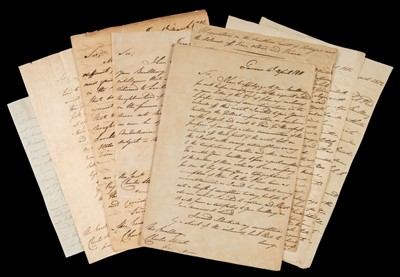 Lot 48 - Peninsular War. Collection of autograph dispatches from John Austin to Charles Stuart, 1811-12