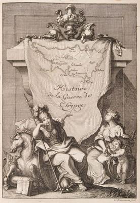 Lot 26 - Graziani (Antonio Maria). Histoire de la guerre de Chypre, 1st edition in French, 1685