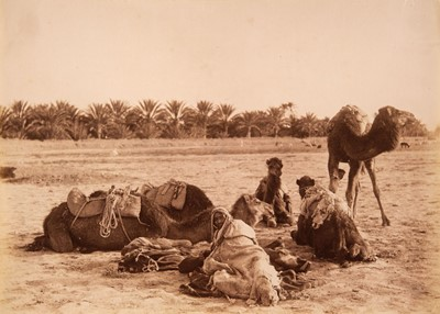 Lot 1 - Algeria. Photograph album, c.1880-90