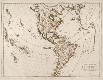Lot 42 - Mentelle (Edmé). Atlas d'étude adopté pour l'école royale spéciale militaire, 1823
