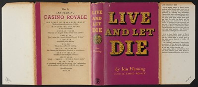 Lot 806 - Fleming (Ian). Live and Let Die, 1st edition, 1954