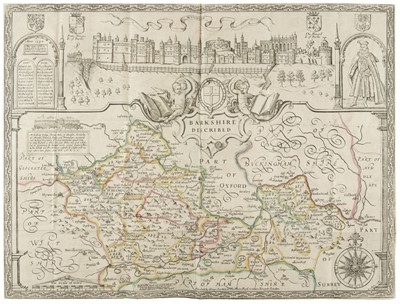 Lot 27 - Ashmole (Elias). The Antiquities of Berkshire, 3 volumes, 1719