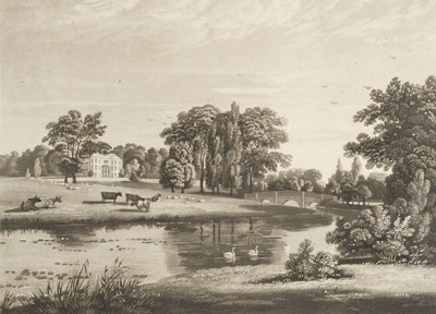 Lot 44-Hofland (Barbara Hoole). A Descriptive Account of the Mansion and Gardens of White-Knights, [1819]