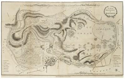 Lot 29 - Blenheim Palace. New Description of Blenheim, [by William Mavor], new edition, 1789