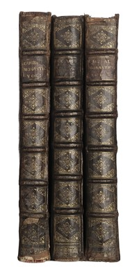 Lot 40-Dugdale (William). Monasticon Anglicanum, 3 volumes (inc. 2 Supplement vols), 1718-23