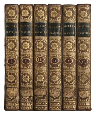 Lot 12 - Modern Traveller. Being a Collection of Useful and Entertaining Travels, 6 vols., 1776-77