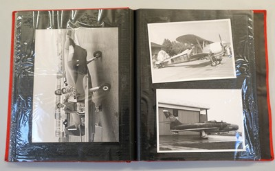 Lot 8-Aviation Photographs.  A large collection of press photographs c.1950/60