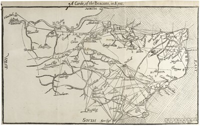 Lot 46 - Lambarde (William). A Perambulation of Kent, 1st ed., 1576