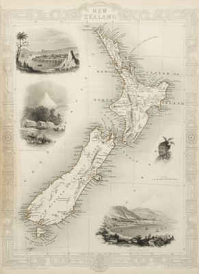 Lot 11 - Martin (R. Montgomery). The Illustrated Atlas..., circa 1860