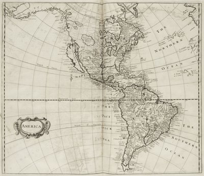 Lot 8 - Heylyn (Peter). Cosmography, In Four Books, 7th edition, London: Edward Brewster, 1703