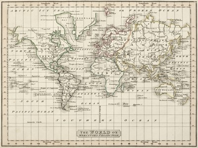 Lot 21-Smith (C.). Smith's New General Atlas..., 1813