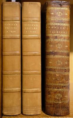 Lot 44 - Bewick (Thomas). History of British Birds (Land/Water), 2 vols., 1st ed.,  Newcastle, 1797/1804