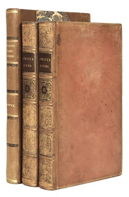 Lot 43 - Bewick (Thomas). Figures of British Land Birds, vol. 1 [all published], Newcastle, 1800