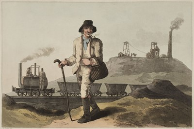 Lot 74 - Walker (George). The Costume of Yorkshire ... , 1814