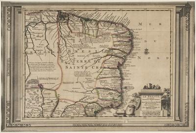 Lot 5 - Brazil. Van der Aa (Pieter), Le Bresil..., circa 1720