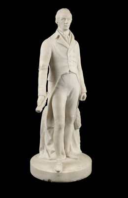 Lot 29-Pitt (William, the Younger, 1759-1806). A marble statue