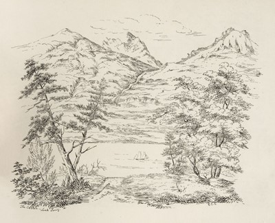 Lot 34-Campbell (E.C.). Scottish Scenery. Sketches from Nature, [Edinburgh, circa 1835]