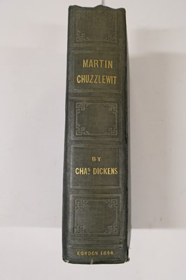 Lot 503 - Dickens (Charles). The Life and Adventures of Martin Chuzzlewit, 1st edition, 1844