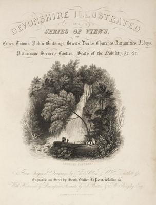 Lot 32 - Britton (J. & Brayley, E. W.). Devonshire & Cornwall Illustrated, 1832