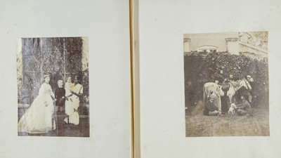 Lot 22-Photograph albums. A group of 9 photograph albums, 19th & 20th century