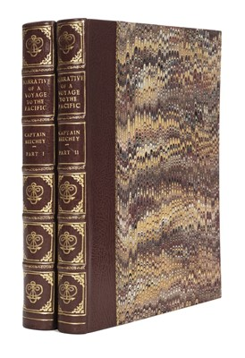 Lot 1-Beechey (Frederick William). Narrative of a Voyage to the Pacific, 2 volumes, 1831