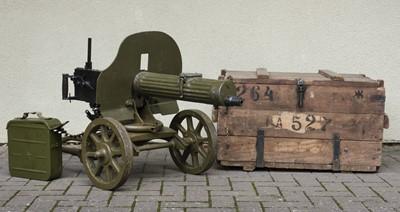 Lot 376 - Maxim 1910. A Russian Maxim 1910 light machine gun c.1945