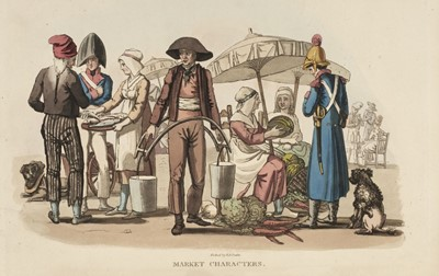 Lot 18-Peake (Richard Brinsley). Characteristic Costume of France, 1819
