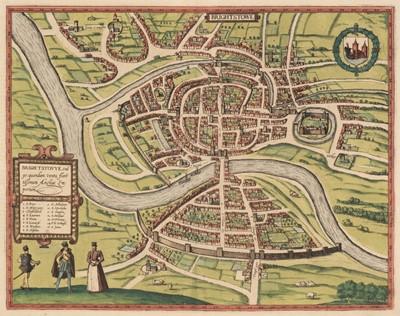 Lot 7 - Bristol. Braun (Georg & Hogenberg Franz), Brightstowe, circa 1581