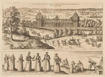 Lot 31 - Nonsuch Palace. Braun (Georg & Hogenberg Franz), Palatium Regium..., circa 1582