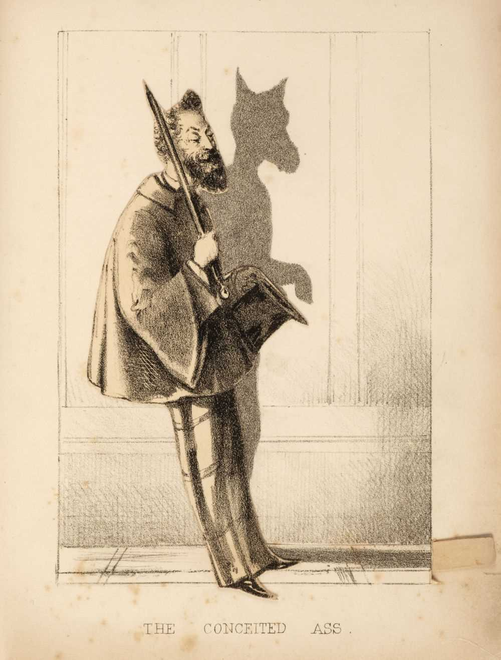 """Lot 456 - Moveable. Moveable Shadows, by W. Newman (of """"Punch""""), [1857]"""