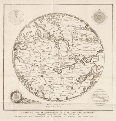 Lot 1-Ancient World. Anonymous, Abbozzo del Mappamondo..., circa 1800
