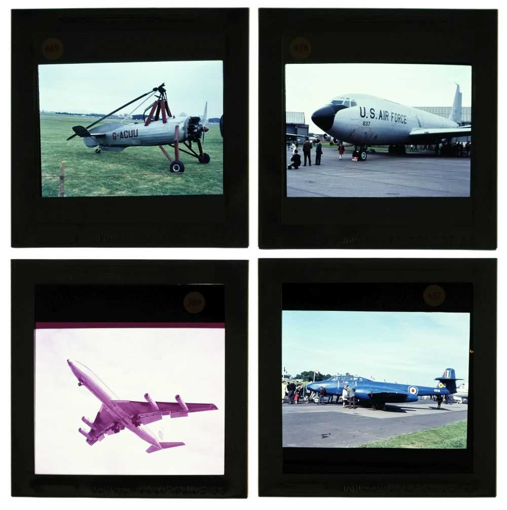 Lot 45 - Gibson (Michael L.).  A large collection of aviation slides c.1950-70s