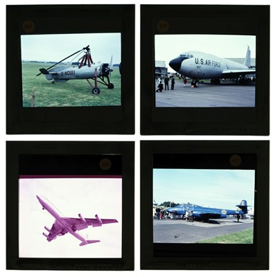 Lot 45-Gibson (Michael L.).  A large collection of aviation slides c.1950-70s