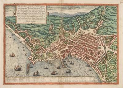 Lot 30 - Naples. Braun (Georg & Hogenberg Franz), Haec est Nobilis, & Florens Illa Neapolis, circa 1580