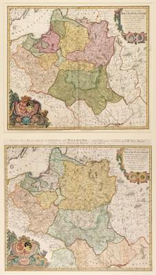 Lot 38 - Poland. Homann (J. B., heirs of), Mappa Geographica Regni Poloniae..., circa 1757