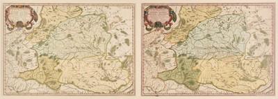 Lot 40 - Poland. Sanson (N.), Germano-Sarmatia in qua populi maiores Venedi et Aestiaei..., 1655