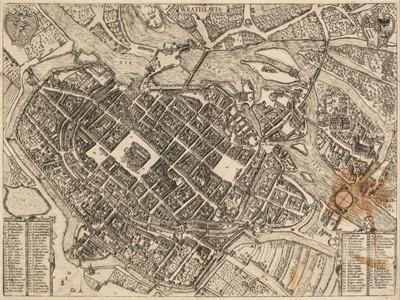 Lot 6 - Breslau. Braun (G & Hogenberg F.), Wratislavia, cologne, 1587